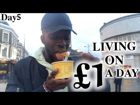 London Hacks - Living on £1 a Day   #5