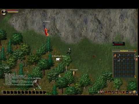 Let's Show Ultima Online – #005 – Trainieren und jagen