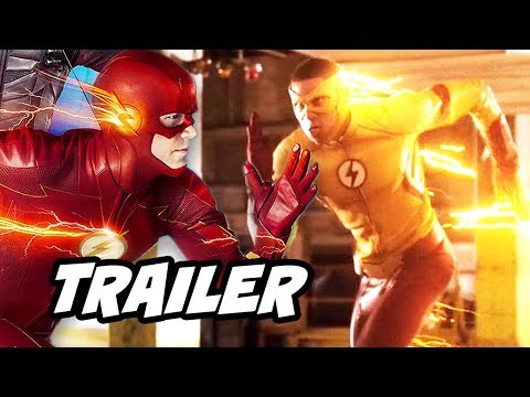 The Flash 4x10 Promo - Wally West Theory and The Trial of The Flash Comics Explained
