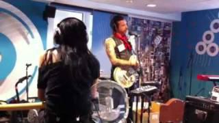 Jesse 'Boots Electric' Hughes Live in the BBC Radio 6 studi