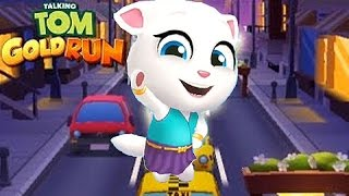 Video Talking TOM Gold Run - La Carrera de ANGELA - Juegos para Niños MP3, 3GP, MP4, WEBM, AVI, FLV Desember 2018