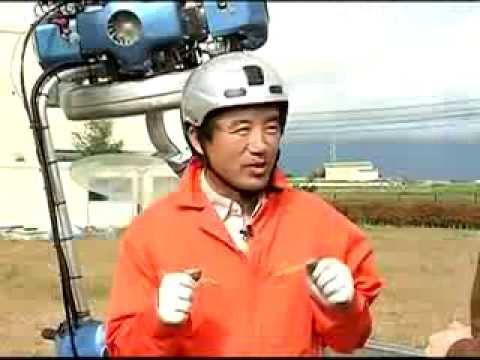 Japonês cria mini-helicóptero para fugir dos engarrafamentos 14.10.2013