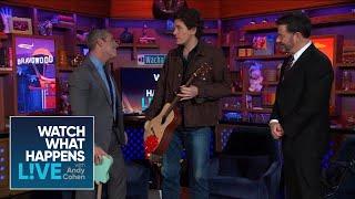 John Mayer Surprises Andy Cohen In The LA Clubhouse!   WWHL