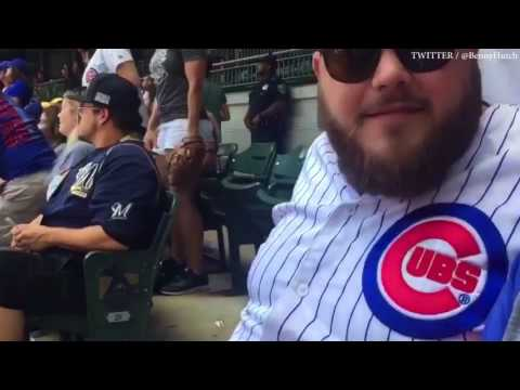 Chris Christie Gets Into it with a Fan At Milwaukee Brewers Game