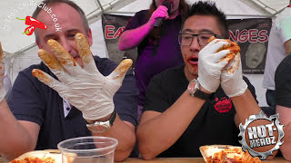 Hot Wing Challenge - Reading Chilli Festival 2016