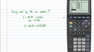 Intermediate Algebra - Introduction to Linear Models (Part A)