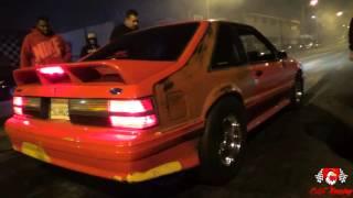 Nitrous LS Foxbody vs Supercharged C6