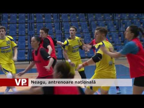 Neagu, antrenoare națională