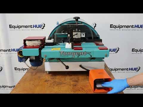 Holz-Her Tangent Corner Rounder Router Machine