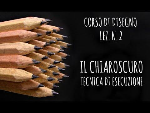 corso di disegno lez. n. 2: il chiaroscuro, le differenti tecniche