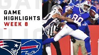 Patriots vs. Bills Week 8 Highlights   NFL 2018