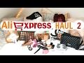 AliExpress Haul 2 ( Huda Beauty, Morphe, Zoeva, Laura Mercier, ABH | Demiana Acis