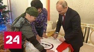 Путин исполнил мечту 10-летнего Коли Кузнецова, который хотел пожать руку главе государства