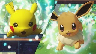 Pokémon: Let's Go, Pikachu! and Pokémon: Let's Go, Eevee! Trailer