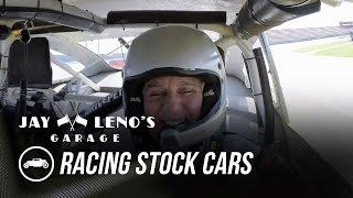 Jay Leno and NASCAR driver Joey Logano Race Stock Cars - Jay Leno's Garage by Jay Leno's Garage