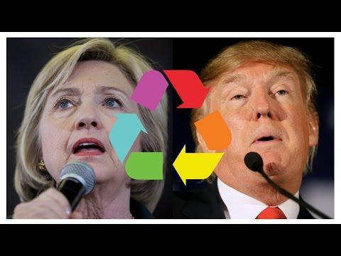 Eclectic Method Hillary VS Donald Remix