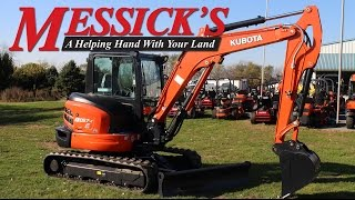 3. Kubota KX057-4 Excavator Overview & Operation | Messick's