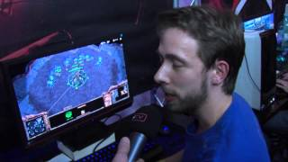 TLO interviewed while playing StarCraft II.