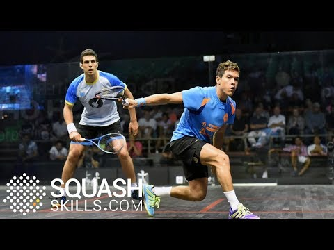 Squash analysis: Rodríguez using speed effectively!