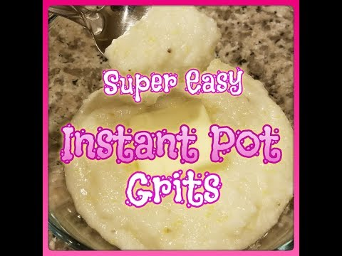 How To Make Creamy Instant Pot Grits, ~Pressure Cooker Grits~ Super Easy  (035)