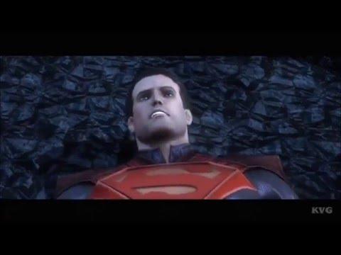 Injustice: Gods Among Us - Superman VS Superman (Story Final Battle 49) [HD]