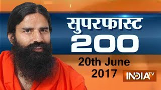 Superfast 200 | 20th June, 2017, 05:00 PM ( Part 2 ) - India TV