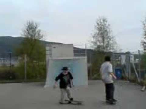 ålesund skateboarding (видео)