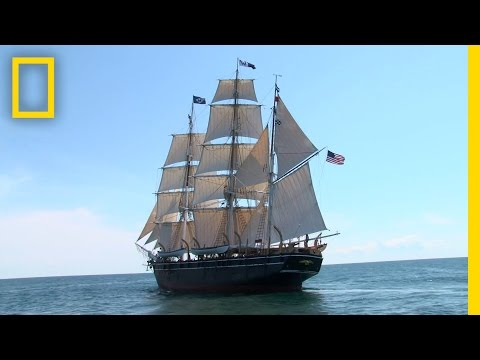 ship - The world's last remaining wooden whaling ship has sailed again. Built in 1841, retired 80 years later, and kept on display since then, the Charles W. Morgan...