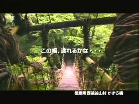 旧西祖谷山村 祖谷のかずら橋CM-1(2006年)