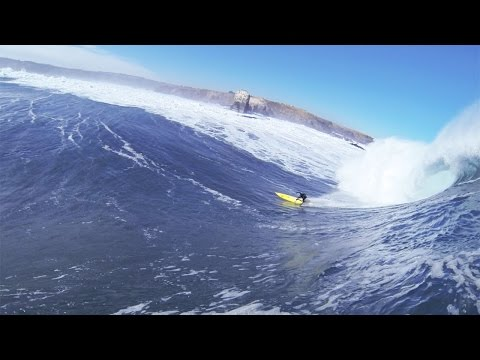 DANGEROUS Wipeout at Chile Big Wave Competition