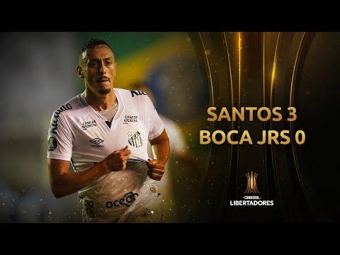 Gols | Santos 3 x 0 Boca Juniors | Semifinal | Libertadores 2020