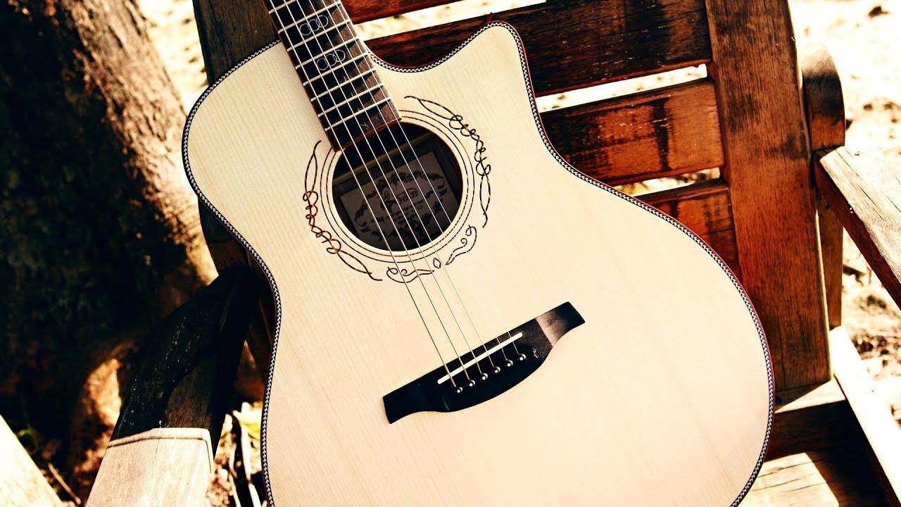 Acoustic Soulful Guitar Ballad Backing Track G Major
