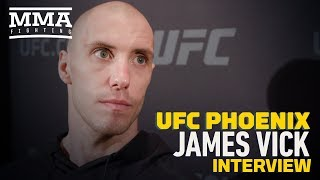 Video UFC Phoenix: James Vick Respects Khabib Nurmagomedov For Wanting to Sit Out During Teammates' Bans MP3, 3GP, MP4, WEBM, AVI, FLV Februari 2019