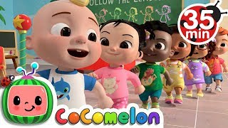 Video Follow the Leader Game  + More Nursery Rhymes & Kids Songs - CoCoMelon MP3, 3GP, MP4, WEBM, AVI, FLV Juli 2019