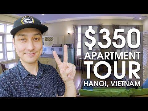 350 USD Vietnam Apartment Tour