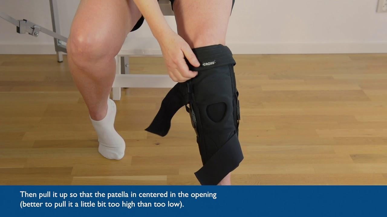 CROSS™ Knee Orthosis Fitting Video