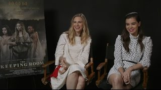 Brit Marling and Hailee Steinfeld Talk 'The Keeping Room', Filming in Romania, and Future Projects