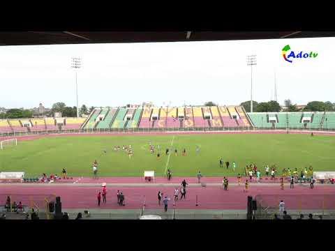 DEMI - FINALE UFOA U20 NIGER vs GHANA