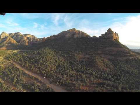 Sedona, AZ FPV flight with possible UFO sighting