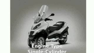 6. 2008 Piaggio MP3 Three Wheeler 400 Specification and Review - motosheets