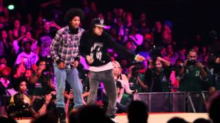 Best move in dance battle history Les Twins vs Lil'O & Tyger B