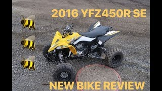 2. NEW ATV ALERT 2016 YFZ450R SPECIAL EDITION