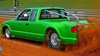 Download Youtube: Newtown Dragway Pro Truck Dirt Drags  10/9/15