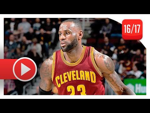 LeBron James Full Highlights vs Timberwolves (2017.02.01) - 27 Pts, 12 Ast, 8 Reb