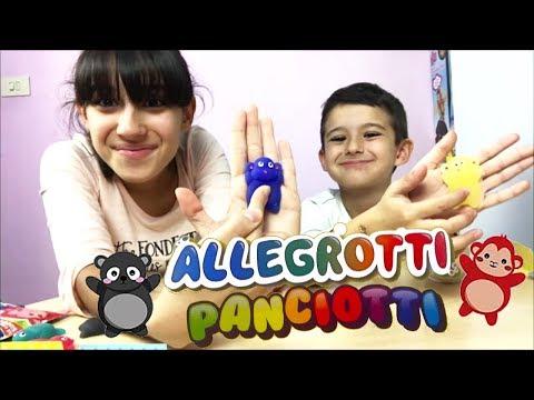 ALLEGROTTI PANCIOTTI - Davvero squishosi!!! (видео)