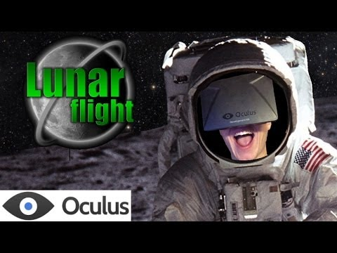 Lunar Flight with Official Oculus Rift Support!