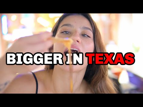 A FULL BLOWN TEXAS DAY OF EATING | 4000 CALORIES