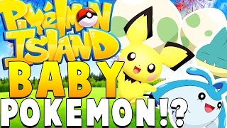 NEW BREEDING BABY POKEMON - Minecraft PIXELMON ISLAND - Pokemon QUESTS