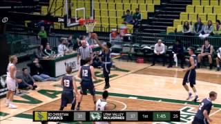 NCAA DI Men's Basketball: San Diego Christian at Utah Valley University