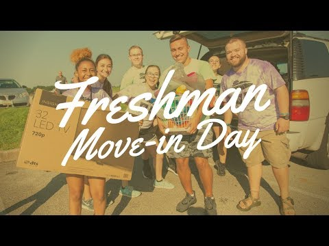 Freshman Move-In Day At SVC 2018